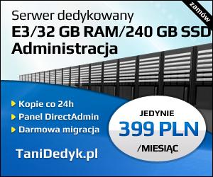 serwer dedykowany z administracją