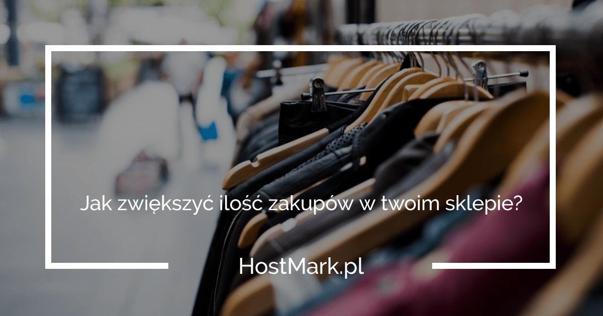 zwiększenie zakupów sklep