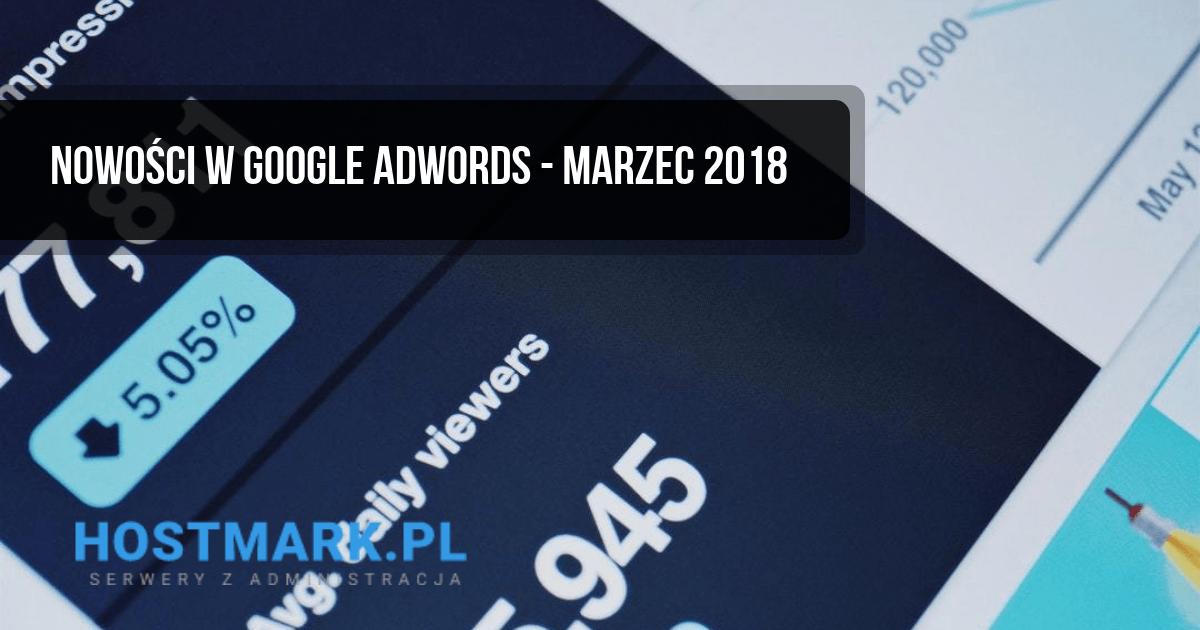 google adwords nowości